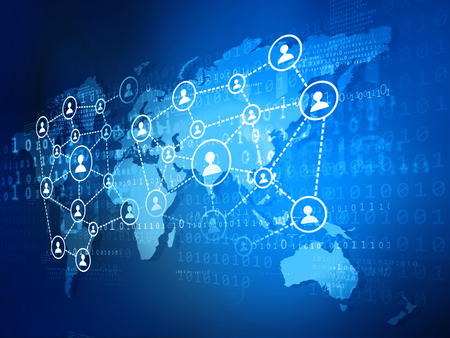 global network: Concept of global business network
