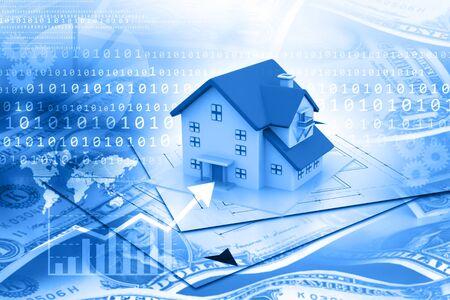 signo pesos: Gráfico de crecimiento inmobiliario