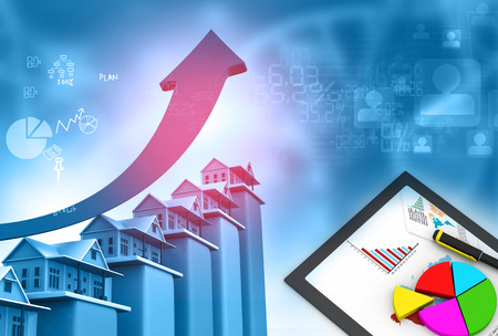real estate growth: Real estate growth cart