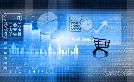 financial market: Financial report market , business background