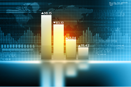 growth: Business growth chart Stock Photo