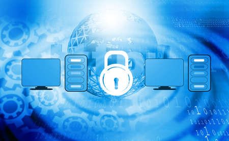 security safety: Computer security or safety concept