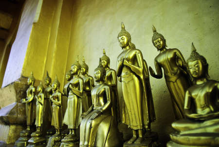 budda: gold budda, Thailand