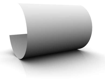 Bent paper Stock Photo - 4501666