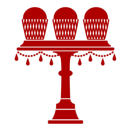 cake stand: Cup Cake Stand With Drops