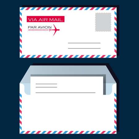 envelop: Envelop Via Air Mail