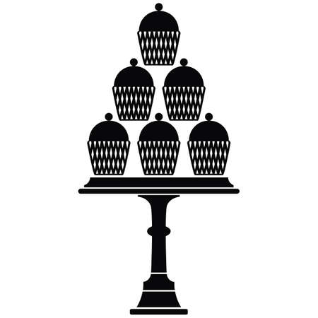 cake stand: Cup Cake Stand