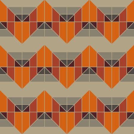 Geometric Grey Pattern