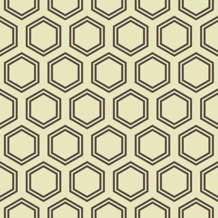 honey comb: Simple seamless honey comb geometrical pattern. Illustration