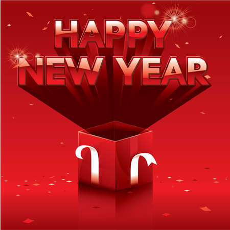 happy new year Stock Vector - 17123370