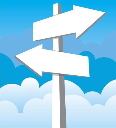 arrow sign Stock Vector - 17123360