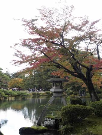 Kotojitourou of Kenrokuen Stock Photo - 16313024