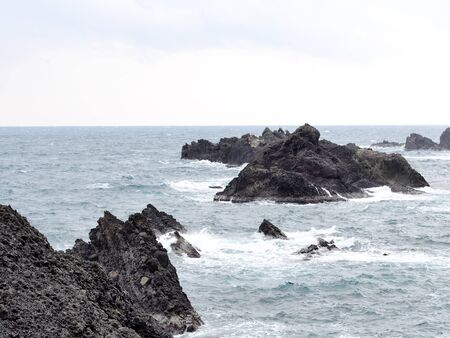 Echizen coast Stock Photo