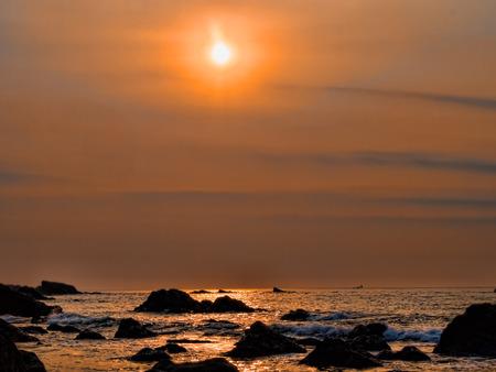 Sunset at Echizen coast