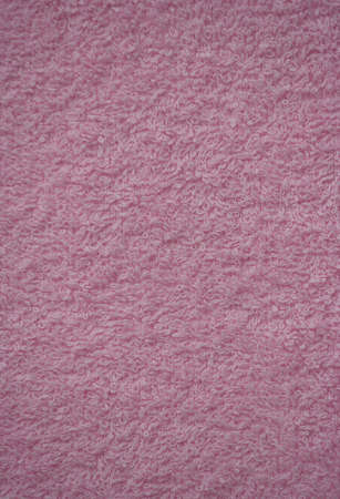 house ware: pink bath towel surface texture