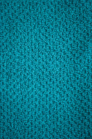 house ware: turquoise bath towel surface texture