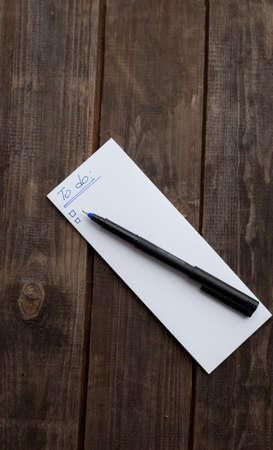 barnwood: para hacer la lista listo para escribir con la pluma