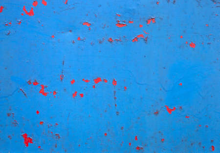 peeling: Peeling Paint And Rust On Metal Background Stock Photo