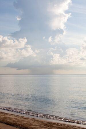 Single cell thunderstorm, Atlantic ocean, vertical