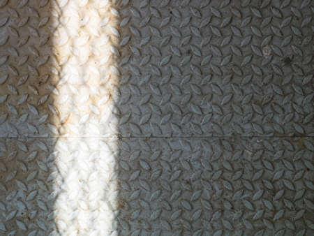diamondplate: arrugginito diamante piastra in acciaio