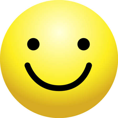 Il s'agit d'une simple icône de visage avec diverses expressions faciales. Vecteurs