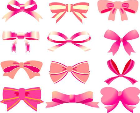 This is an illustration of a decorative ribbon. Ilustração