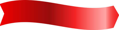 This is an illustration of a decorative title ribbon.