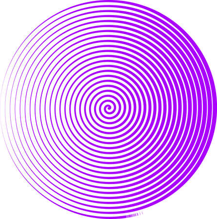 This is an illustration of the spiral symbol.