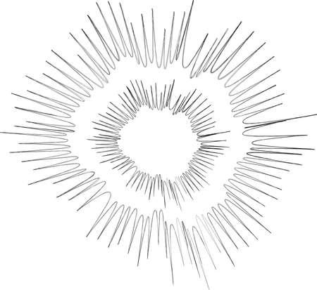 This is an illustration of a cartoon explosion. Ilustração