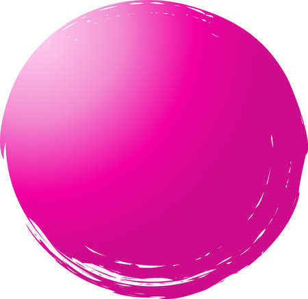 This is an illustration of a colorful circle painted with a brush.