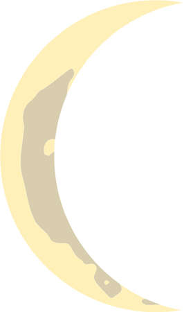 This is an illustration showing the phases of the moon.