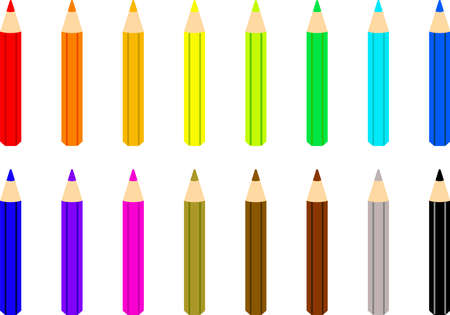 colorful, artwork, image, illustration, web, office, colorful, clipart, crayon, graphite, sharp, sketch, set, business, pen, pencil, note, fixture, study, school, letter, education, stationery , Tree, wooden, beautiful goods, color pencil, tool, lead, pencil