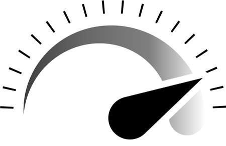 This is an illustration of the tachometer.
