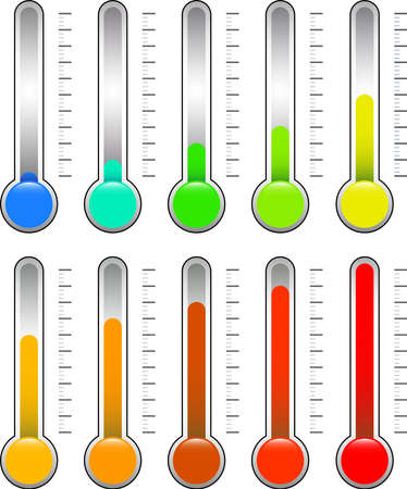 This is an illustration of a thermometer.