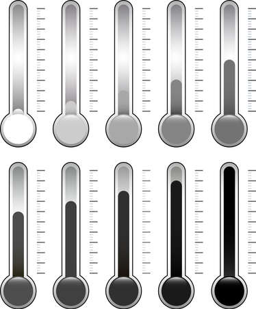 This is an illustration of a thermometer. Standard-Bild - 116338793