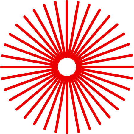 This is an illustration of radial concentric element.