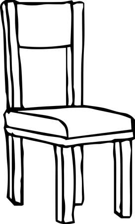 This is a rough sketch of the chair.