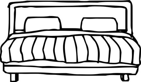 This is a rough sketch of the bed.