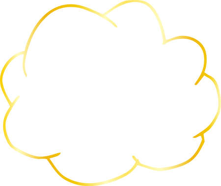 This is a rough sketch of clouds.