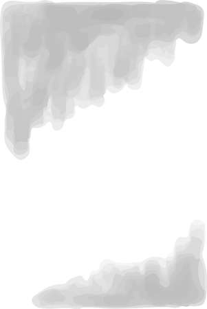 This is a vertical watercolor style background illustration with margins. Stock Illustratie