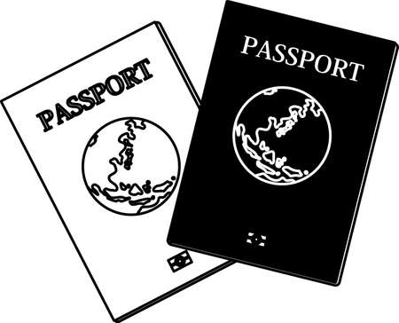 This is the Illustration of a passport.