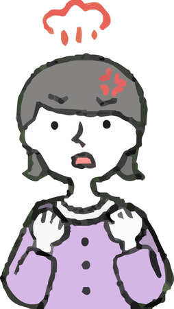 This is a illustration of Pop Illustration of a woman wearing a dress face and pose.
