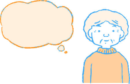 This is a Illustration of women of various ages with Speech Balloon. Çizim