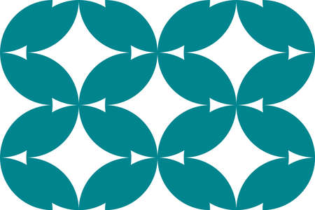 This is a illustration of Seamless Japanese pattern representing cloisonne ware