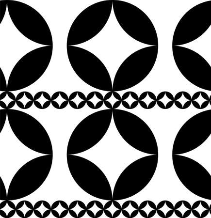 This is a illustration of  Seamless Japanese pattern representing cloisonne ware Ilustrace