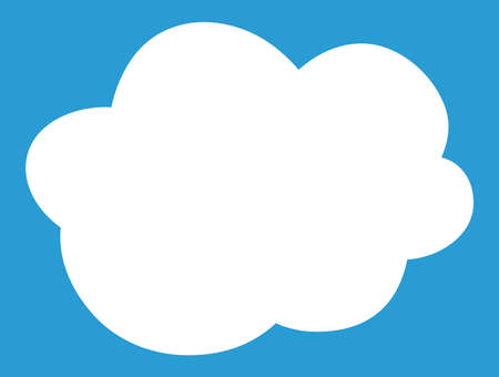 This is a illustration of Cute Cartoon clouds