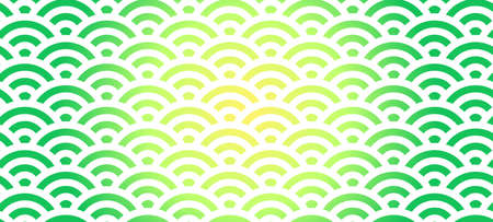 This is a illustration of Colorful Japanese style Qinghai wave background material Banque d'images - 152525824