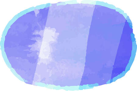 This is a illustration of Horizontal circular frame with warm cold color texture