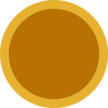 This is a illustration of One Coin medal Foto de archivo - 163646845