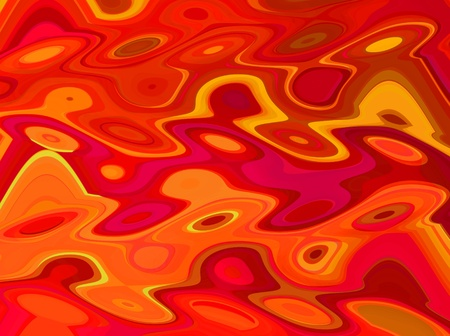 Abstract Red Water Background Stock Photo - 10548850